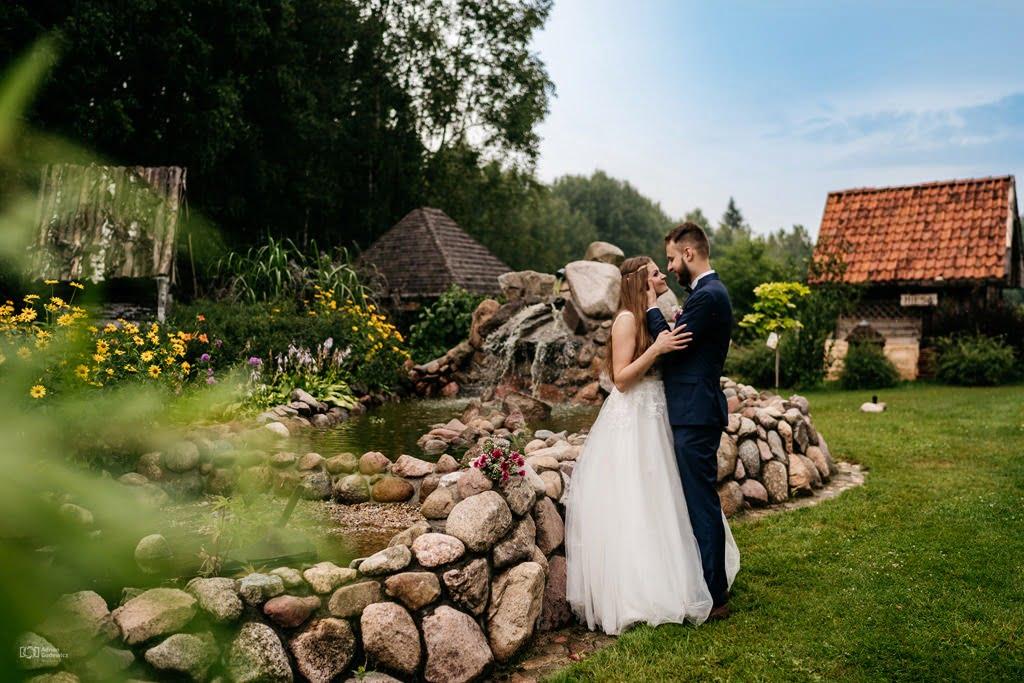 niesamowite kadry na sesji ślubnej