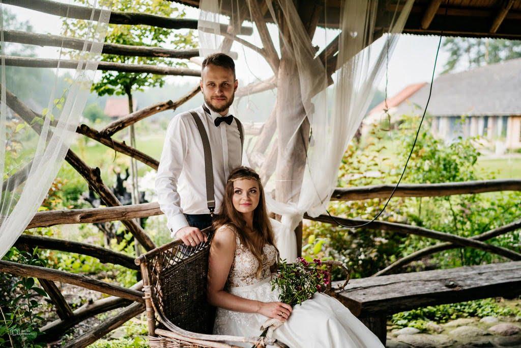 piękny plener ślubny białystok