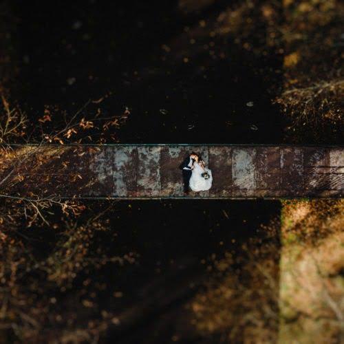zdjęcia ślubne z drona Białystok