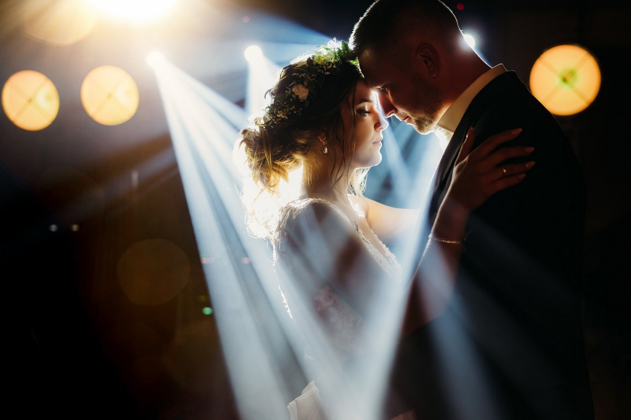 piękne zdjęcie ślubne